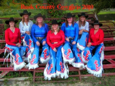 Rusk County Cowgirls Drill Team - Chaps by Hitch-N-Stitch