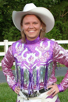 Western Show Shirt with Bling - Hitch-N-Stitch
