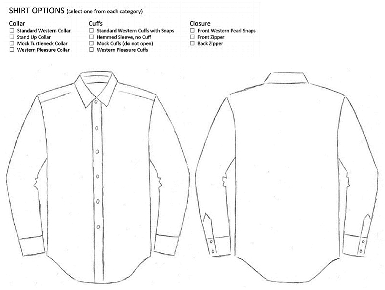 Shirt Drawing Template Click To Enlarge And Print