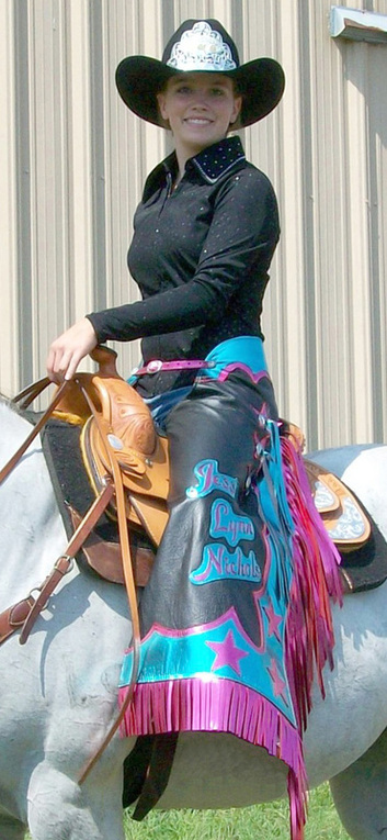 Leather Rodeo Chaps by Hitch-N-Stitch